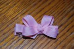 Custom Color Itty Bitty Boutique bow